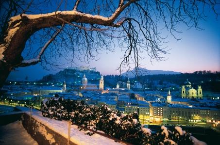 Weihnachtsfeier in Salzburg